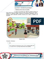 Evidence Street life.docx