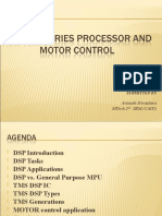 DSP TMS Series Processor and MOTOR Control