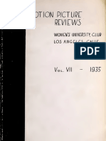 Motion Picture Reviews (1935)