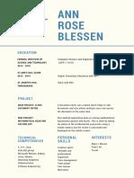 Ann Rose BlessenFISAT