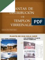 Plantas de Distribución-templos Virreinales