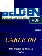 Belden Cable 101 Presentation