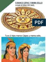 Leyenda de Manco Cápac y Mama Ocllo