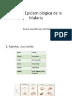 Cadena Epidemiológica de La Malaria