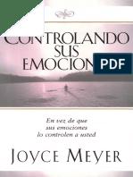 Controlando sus emociones Joyce Meyer