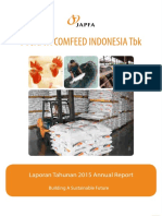Japfa Comfeed Indonesia Annual Report 2015 Indonesia Investments