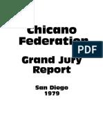 Chicano Federation Grand Jury Report (1979)