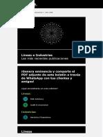 Deloitte 2018 - Boletin de Lineas e Industrias - Julio