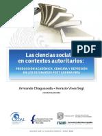 Las Ciencias Sociales en Contextos Autoritarios