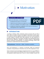 Motivation in management principle