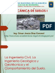 Diap2 La Ingeniería Civil La Ing Geologica y Geotecnica y Comportamiento Del Suelo Ing Cesar Diaz