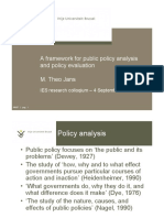 2 Framework for Policy Analysis