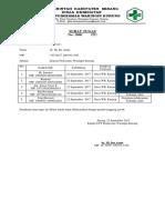 Surat Tugas Prokesga Ds. Waringin