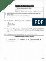 India Entrance Exam 2015