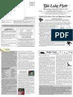 May 2008 Lake Flyer Newsletter Winnebago Audubon Society