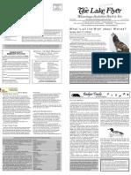 April 2008 Lake Flyer Newsletter Winnebago Audubon Society