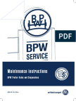 Maintenance Instruction