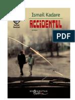 Accidentul - Ismail Kadare.pdf
