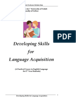 DEVELOPING SKILLS 4 LANGUAGE ACQUISITION.doc