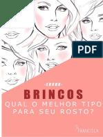 E-book Tipos de Brincos