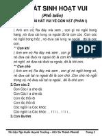 Bai Hat Ve Con Vat - Phan 1