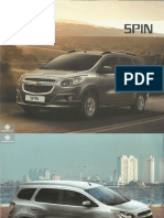 Brosur Chevrolet Spin Indonesia