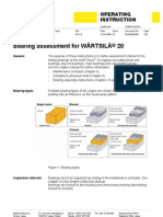Bearing Assessment for Wartsila 20