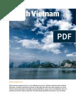 North Vietnam Travel 2018