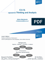 C11SL - 1 Systems Thinking and Analysis Intro 2017(2)