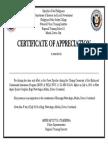 New Argo Certificate 220499458585996