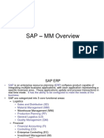 SAP MM Presentation