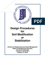 INDOT Soil Mod Procedures 2015