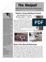 March 2005 Redpoll Newsletter Arctic Audubon Society