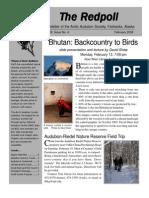 February 2006 Redpoll Newsletter Arctic Audubon Society