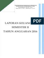 Lap Keuangan Semester II Tahun 2016(4)