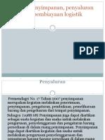 PENYIMPANAN , PENYALURAN 4