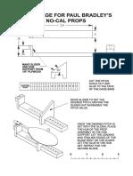 Propeller Pitch Gauge