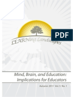 Mind Brain and Education