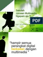 Pengenalan Jurusan MULTIMEDIA - DataPendidikan.com -