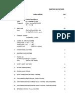 Daftar Inventaris Soil Test