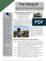 March 2007 Redpoll Newsletter Arctic Audubon Society