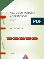 ABC de Un Motor a Carburador