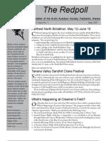 May 2007 Redpoll Newsletter Arctic Audubon Society