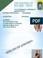 TIPOS DE MERCADO -MARKETING