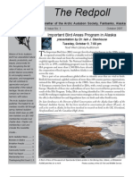 October 2007 Redpoll Newsletter Arctic Audubon Society