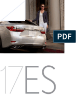 MY17 Lexus ES and ES Hybrid Brochure
