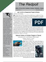 December 2007 Redpoll Newsletter Arctic Audubon Society