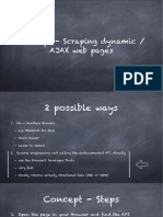 Concept How to Scrape Dynamic Web Pages