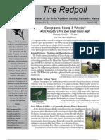 April 2008 Redpoll Newsletter Arctic Audubon Society