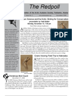 November 2008 Redpoll Newsletter Arctic Audubon Society